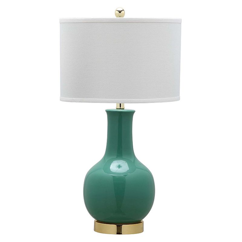 Safavieh Emerald Ceramic Paris Lamp