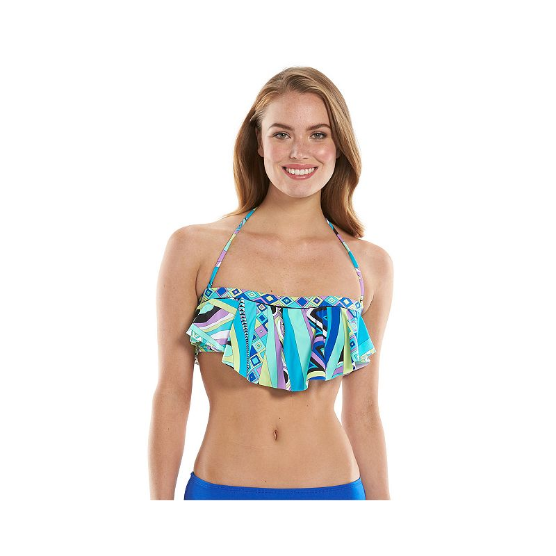 Women's Apt. 9® Flounce Bikini Top