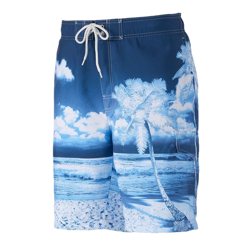 Big & Tall SONOMA Goods for Life™ Cloud Nine Microfiber Swim Trunks
