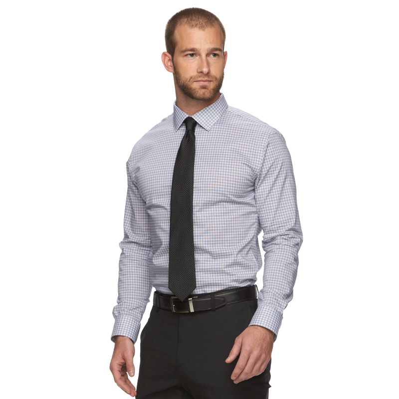 Men's Marc Anthony Slim-Fit Non-Iron Dress Shirt | DealTrend