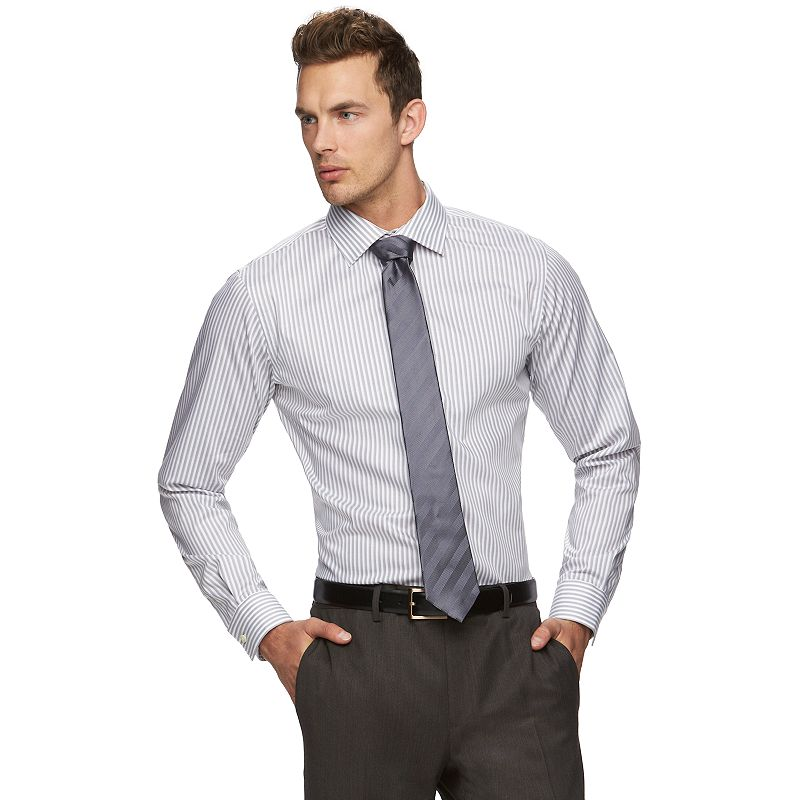 Men's Marc Anthony Slim-Fit Non-Iron Dress Shirt