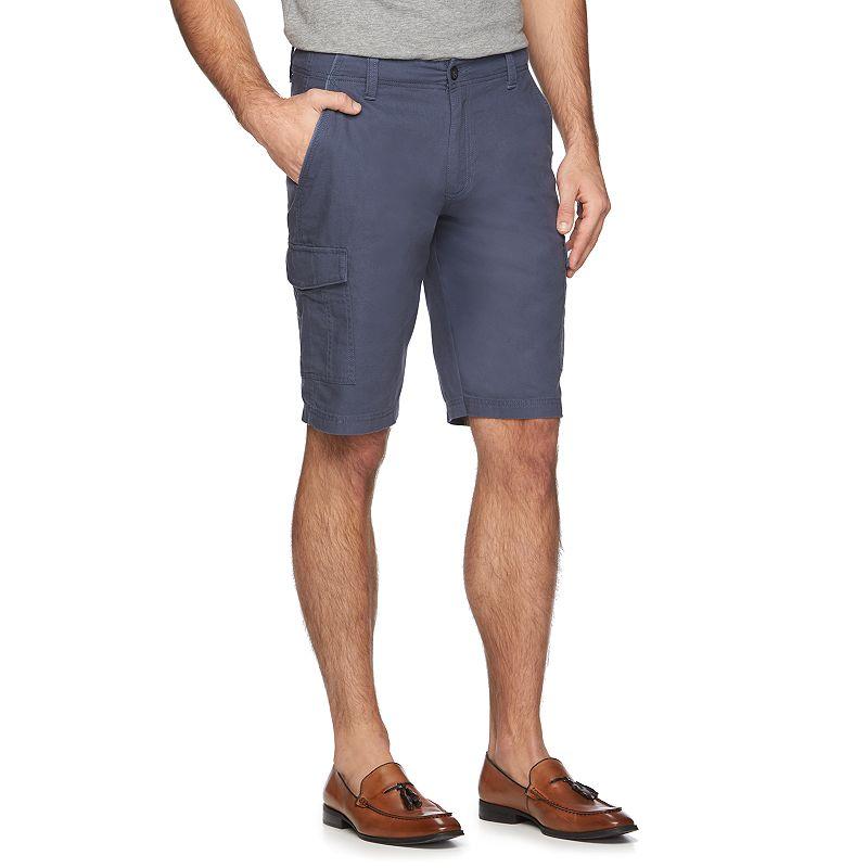 Men's Marc Anthony Slim-FIt Linen Cargo Shorts