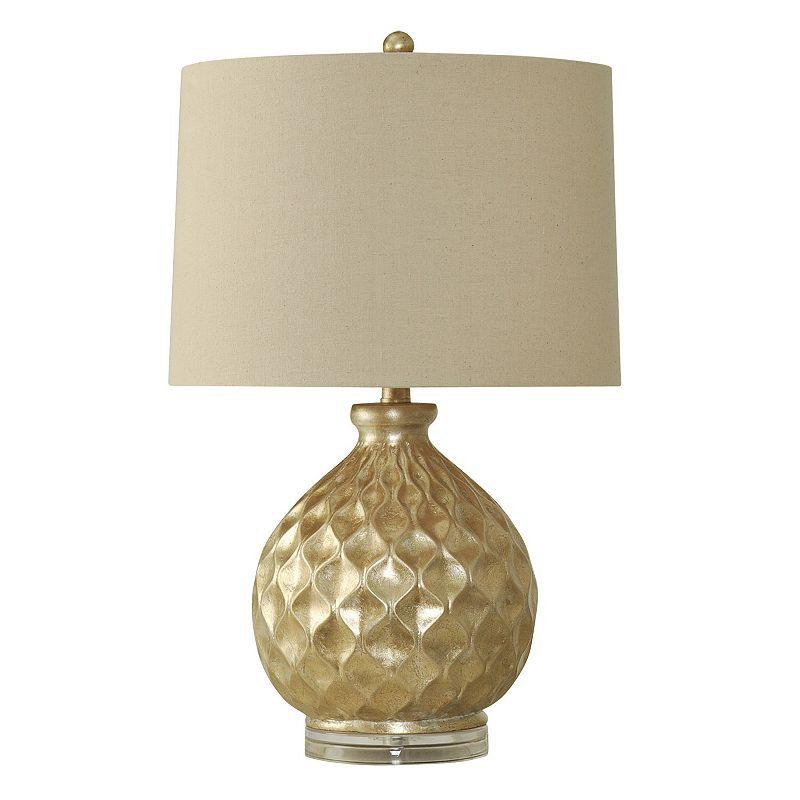 Stylecraft Geo Metallic Table Lamp