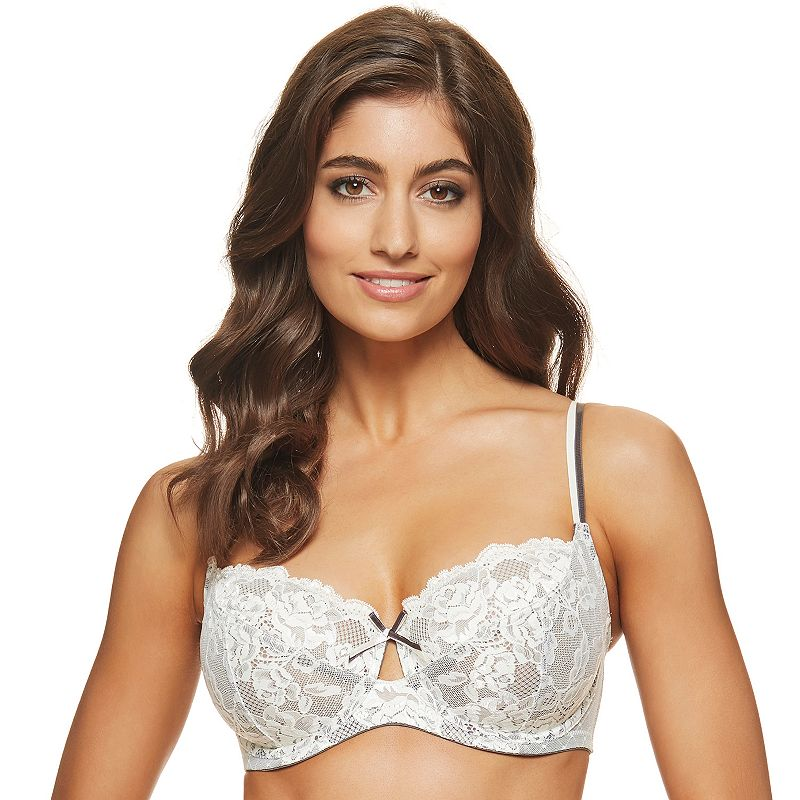 Perfects Australia Bra: Bianca Unlined Lace Balconette Bra 14UBR14
