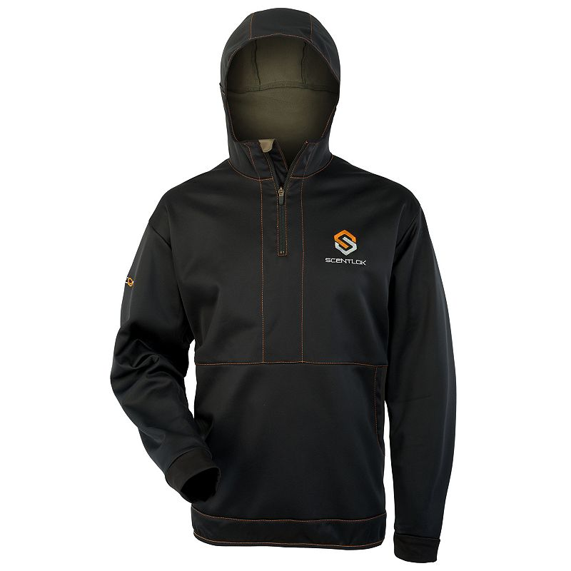 Men's Scent-Lok Reticle Quarter-Zip Hoodie