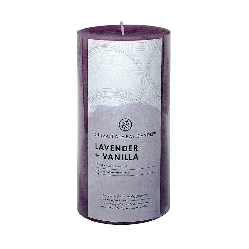 Chesapeake Bay Candle Lavender & Vanilla 6-in. Pillar Candle