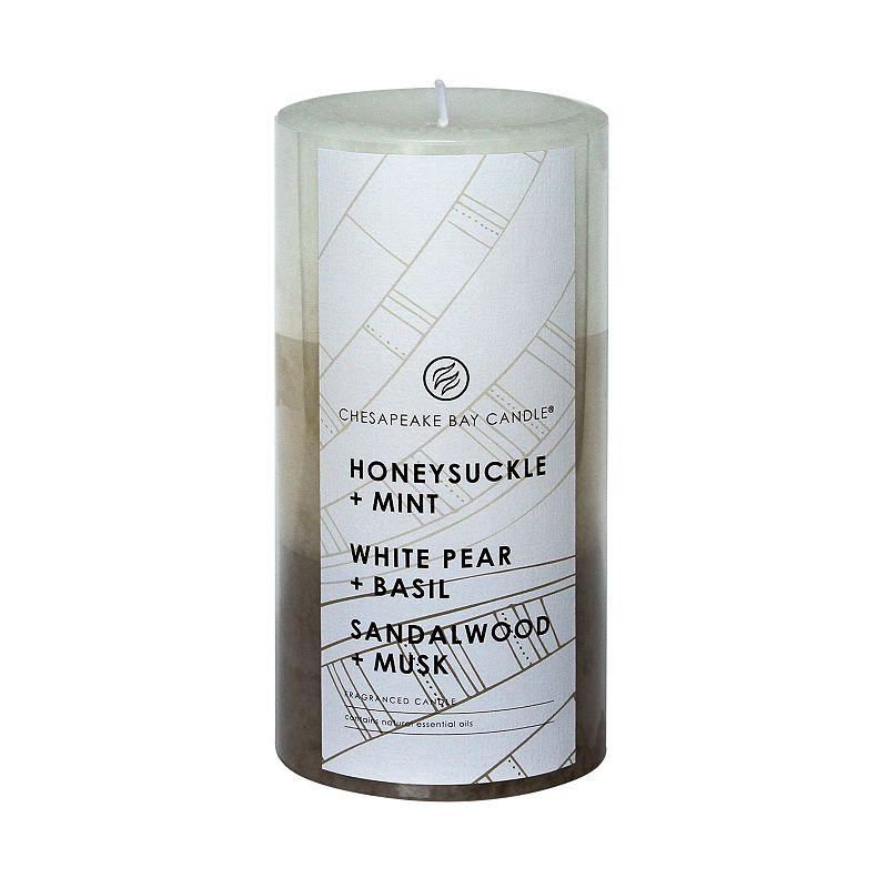 Chesapeake Bay Candle White Pear & Basil, Honeysuckle & Mint and Sandalwood & Musk