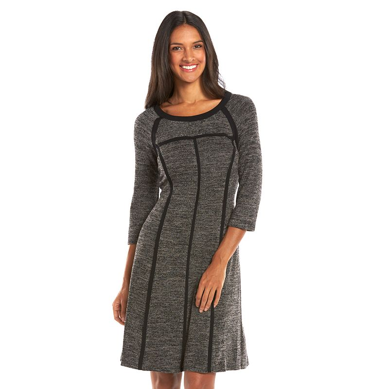 Women's Connected Apparel Marled Sweater Dress