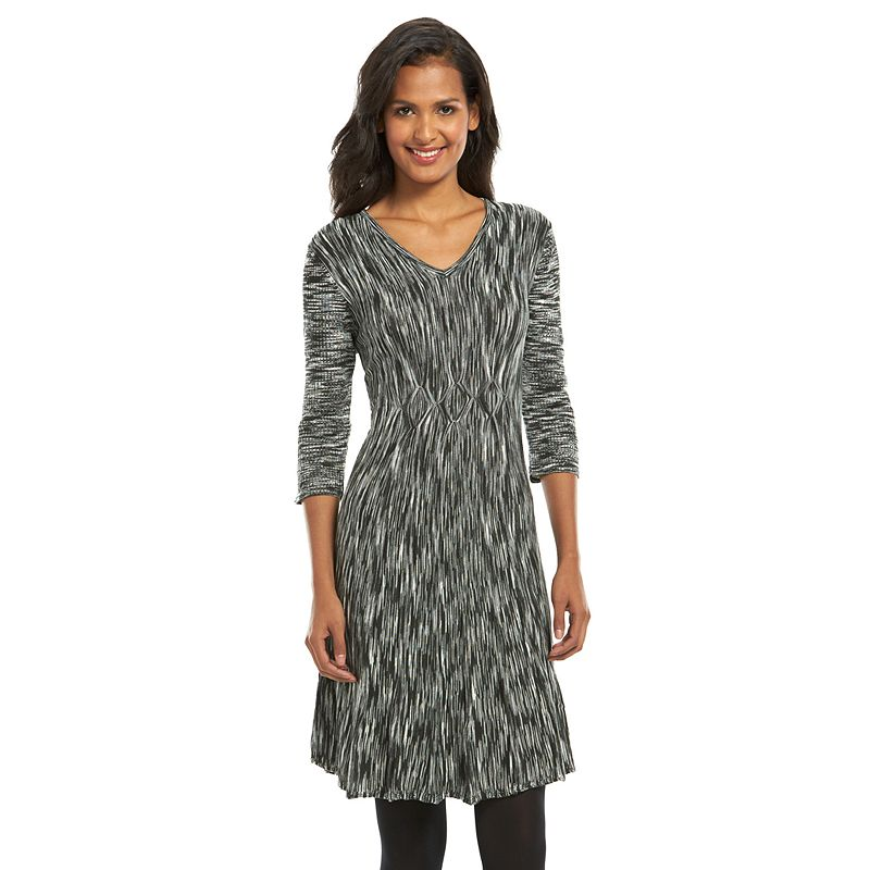 Connected Apparel Space-Dye Sweaterdress - Women's