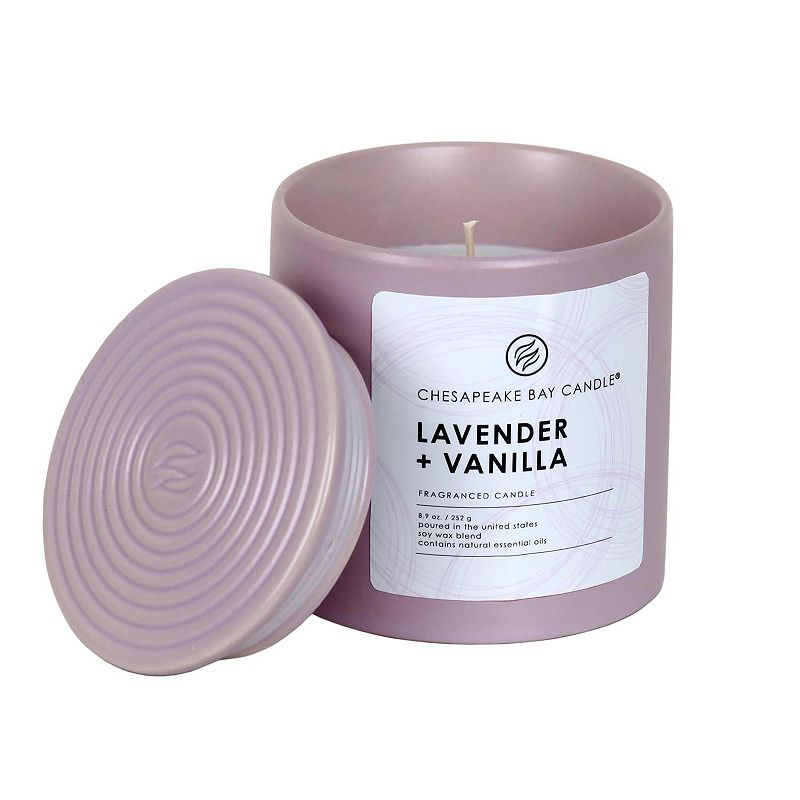 Chesapeake Bay Candle 8.9-oz. Lavender & Vanilla Ceramic Jar Candle