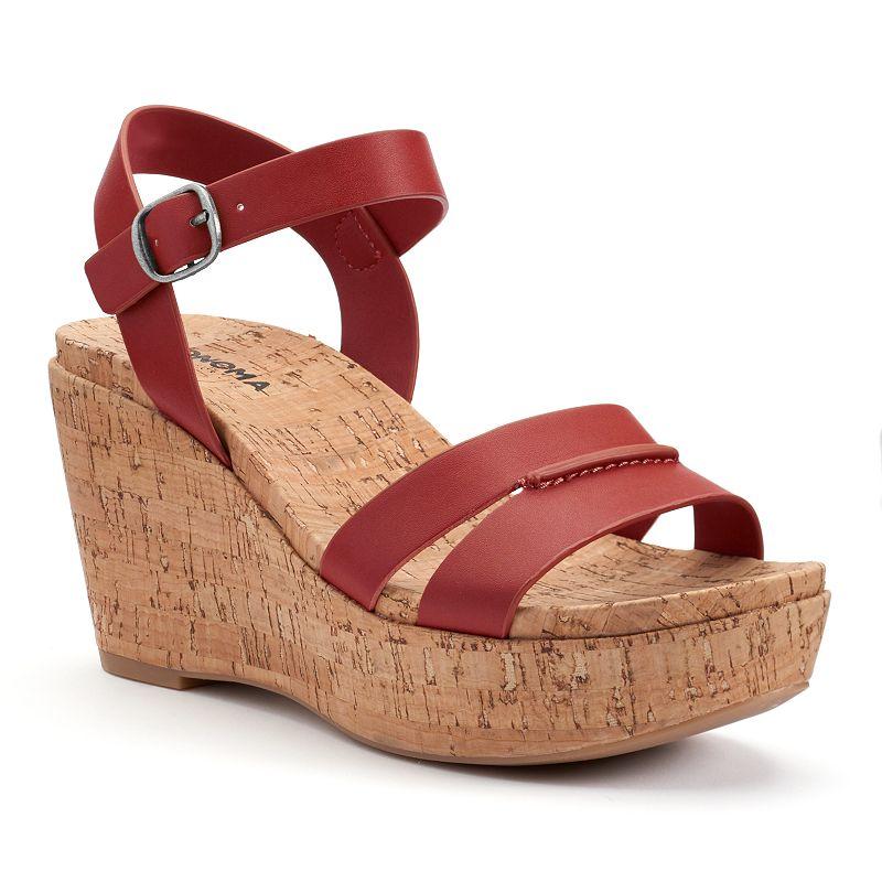 SONOMA Goods for Life™ Women's Cork Wedge Sandals
