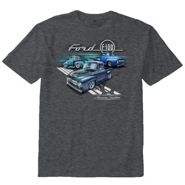 Big & Tall Newport Blue Ford F-100 Truck Series Tee