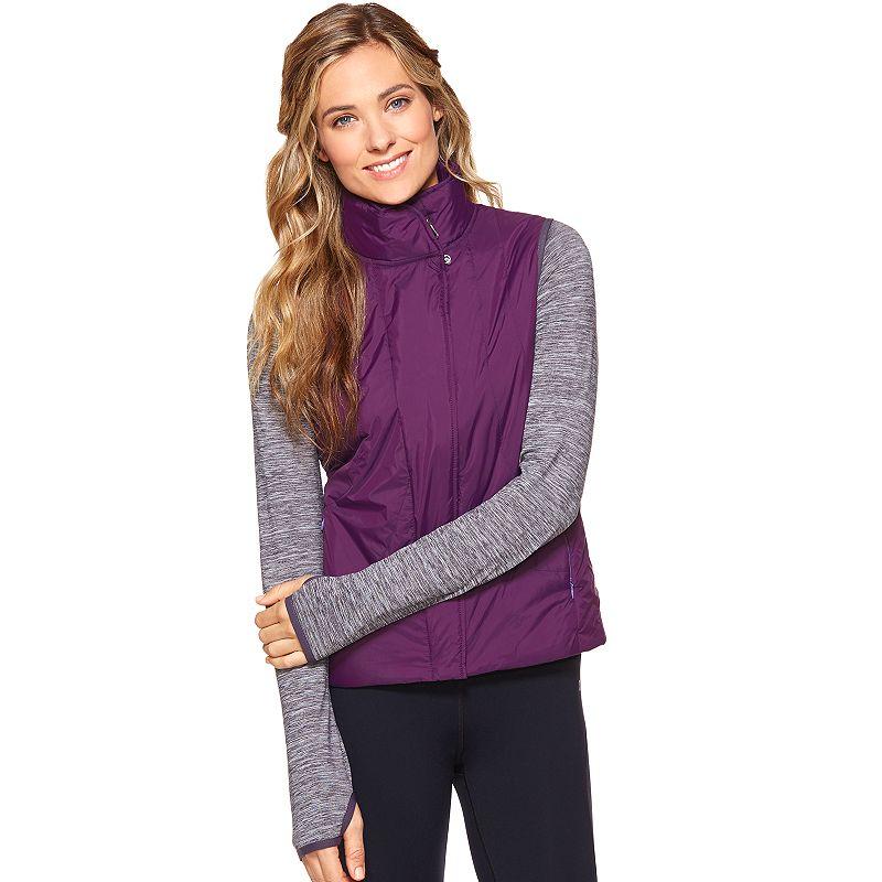 Women's Shape Active Mixed-Media Hybrid Puffer Jacket