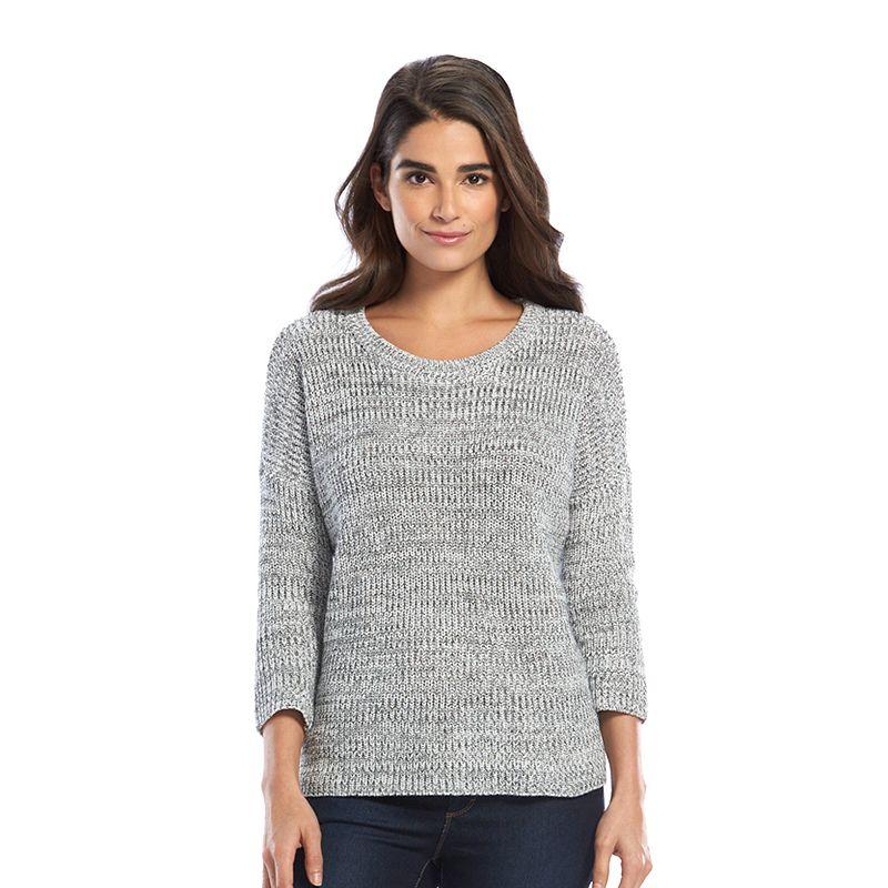 Women's SONOMA Goods for Life™ Drop-Shoulder Crewneck Sweater
