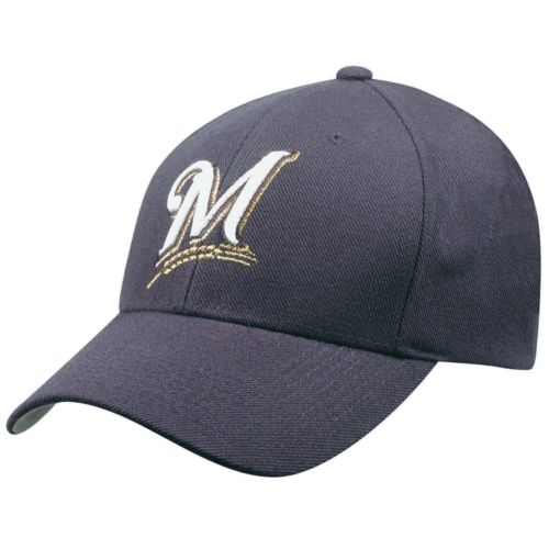 Adult Milwaukee Brewers Wool Replica Baseball Cap