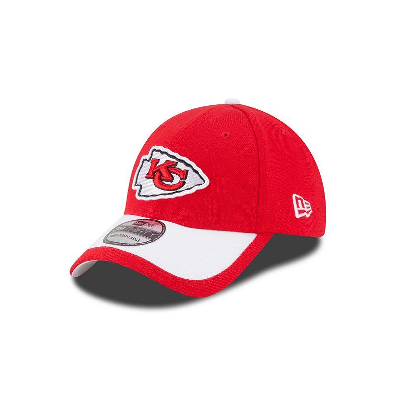 Youth New Era Kansas City Chiefs Sideline 39THIRTY Stretch-Fit Cap