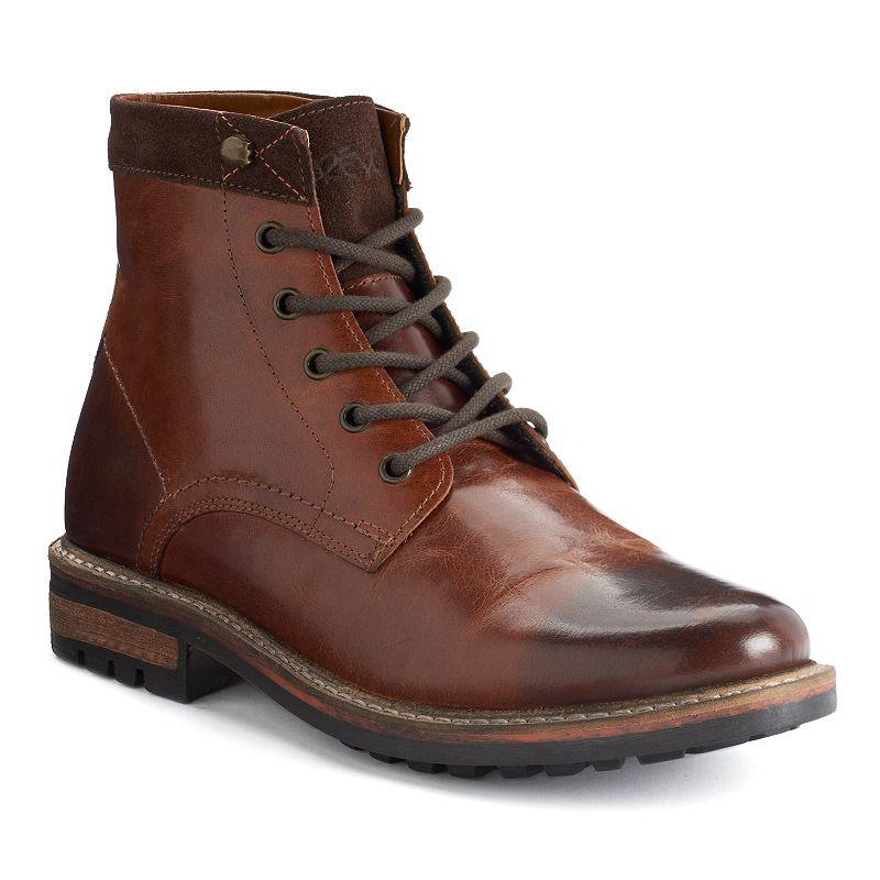 Crevo Hardy Men's Plain Toe Ankle Boots