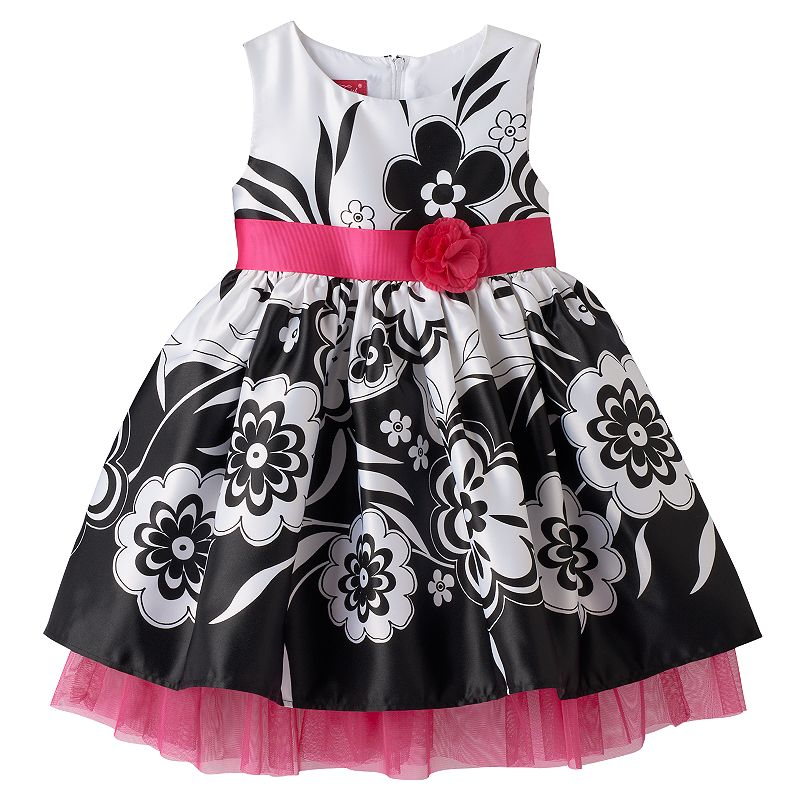 Princess Faith Toddler Girl Floral Dress