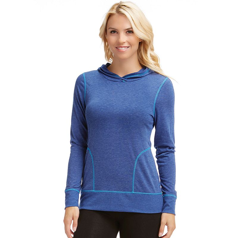 Women's Bally Total Fitness Poly Flex Workout Hoodie
