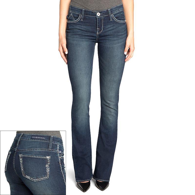 Rock & Republic® Kassandra Faded Bootcut Jeans - Women's