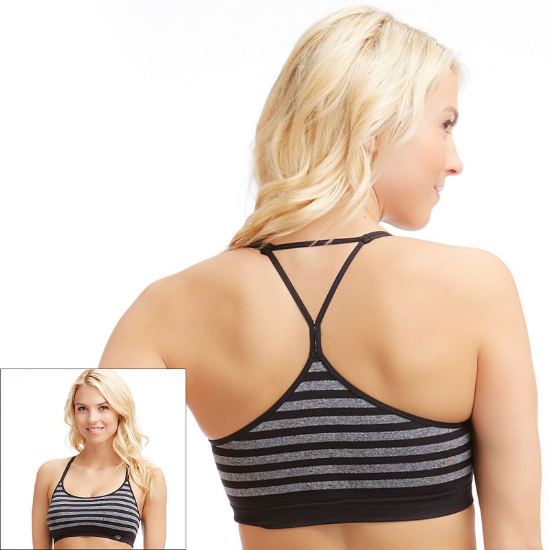 Bally Total Fitness Bra: Seamless Low-Impact Sport Bra BFP020SA