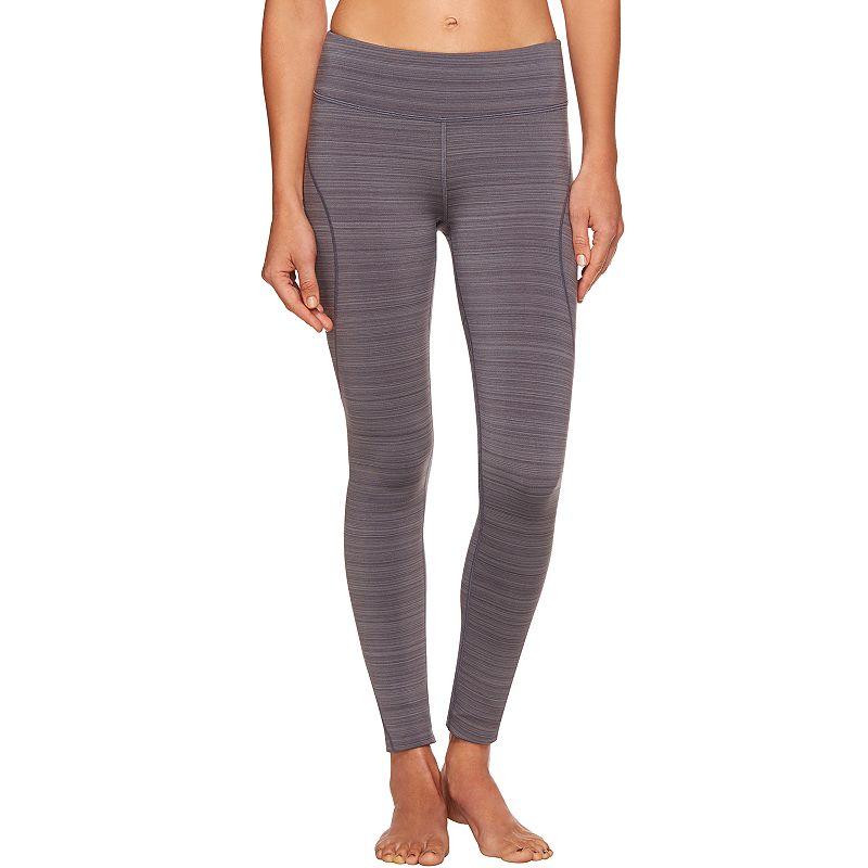 Women's Shape Active Barcode Fleece-Lined Running Leggings