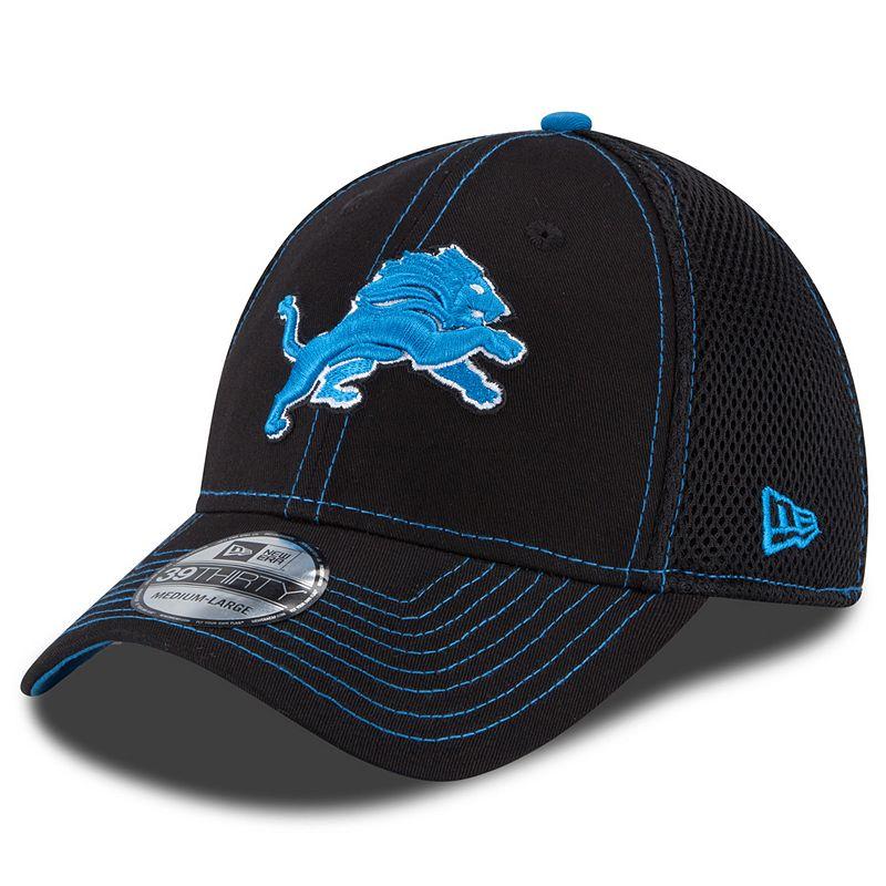 New Era Detroit Lions Crux Line Neo 39THIRTY Stretch-Fit Cap - Adult