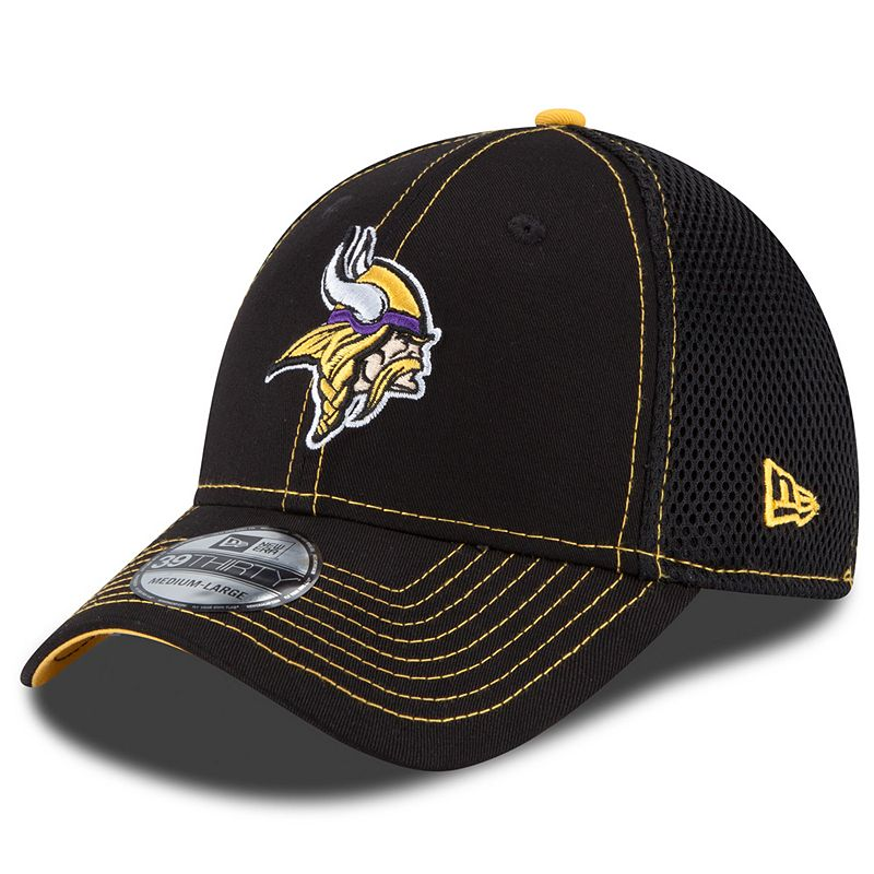New Era Minnesota Vikings Crux Line Neo 39THIRTY Stretch-Fit Cap - Adult