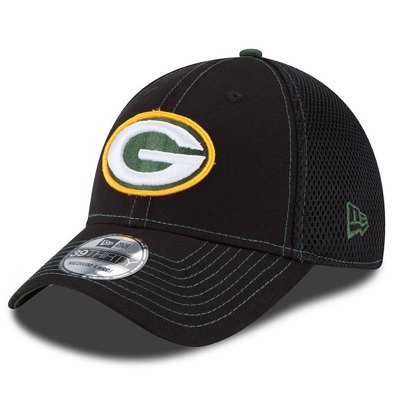 New Era Green Bay Packers Crux Line Neo 39THIRTY Stretch-Fit Cap - Adult