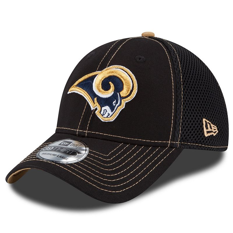 New Era St. Louis Rams Crux Line Neo 39THIRTY Stretch-Fit Cap - Adult
