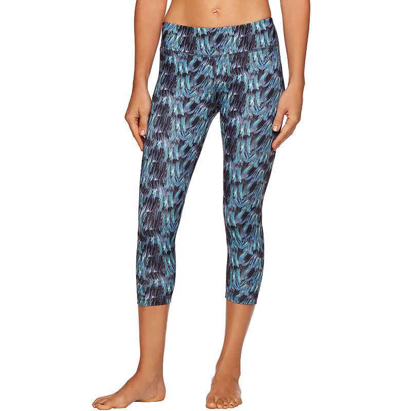 Women's Shape Active Printed Capri Yoga Leggings
