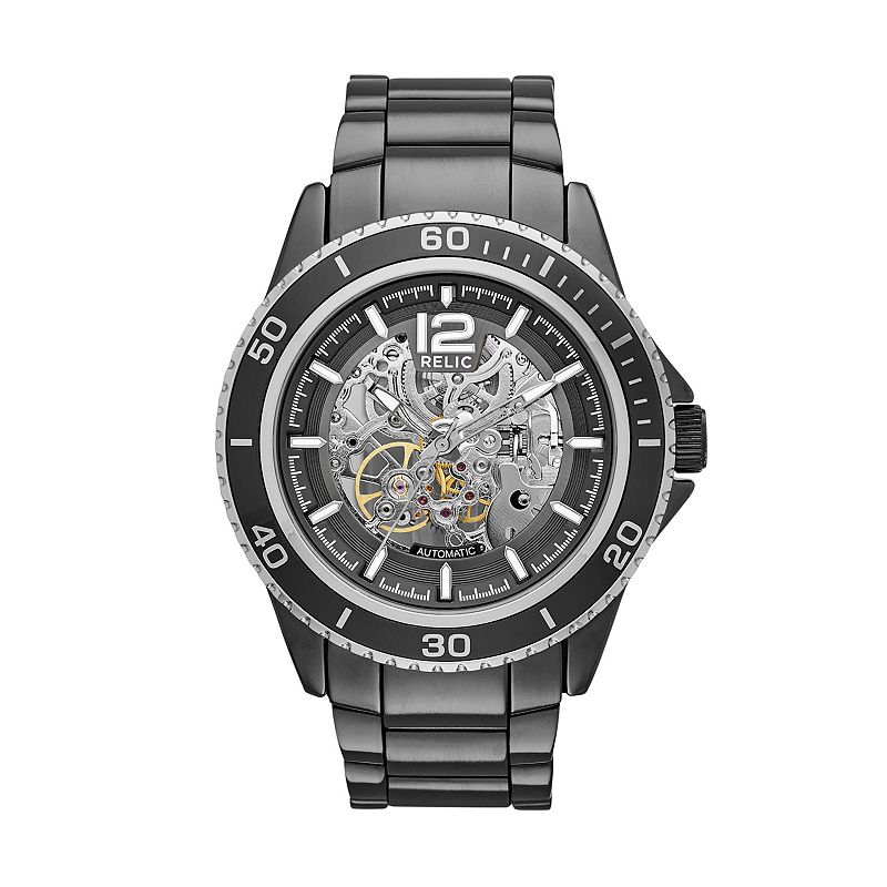 Luminous hands skeleton dial watch kohl 39 s for Watches kohls