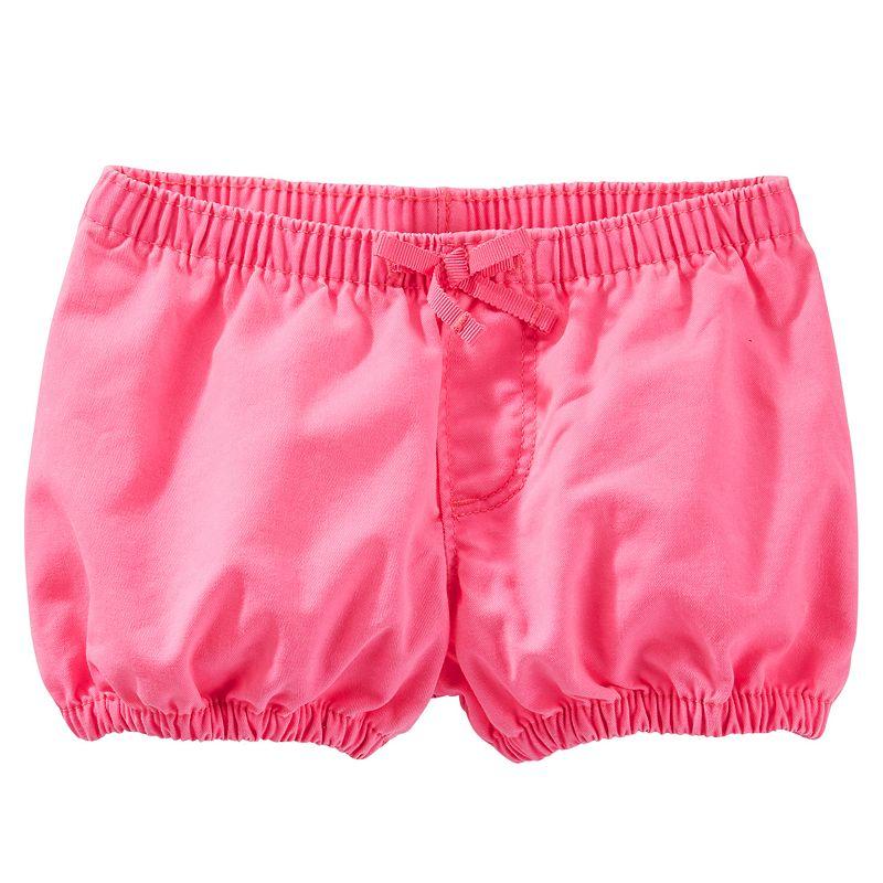 Baby Girl OshKosh B'gosh® Twill Bubble Shorts