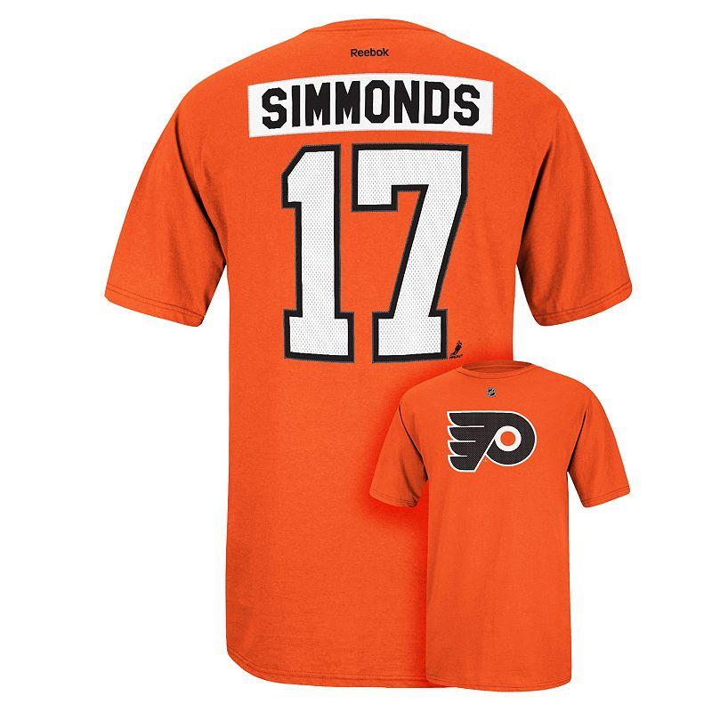 Men's Reebok Philadelphia Flyers Wayne Simmonds Premier Tee
