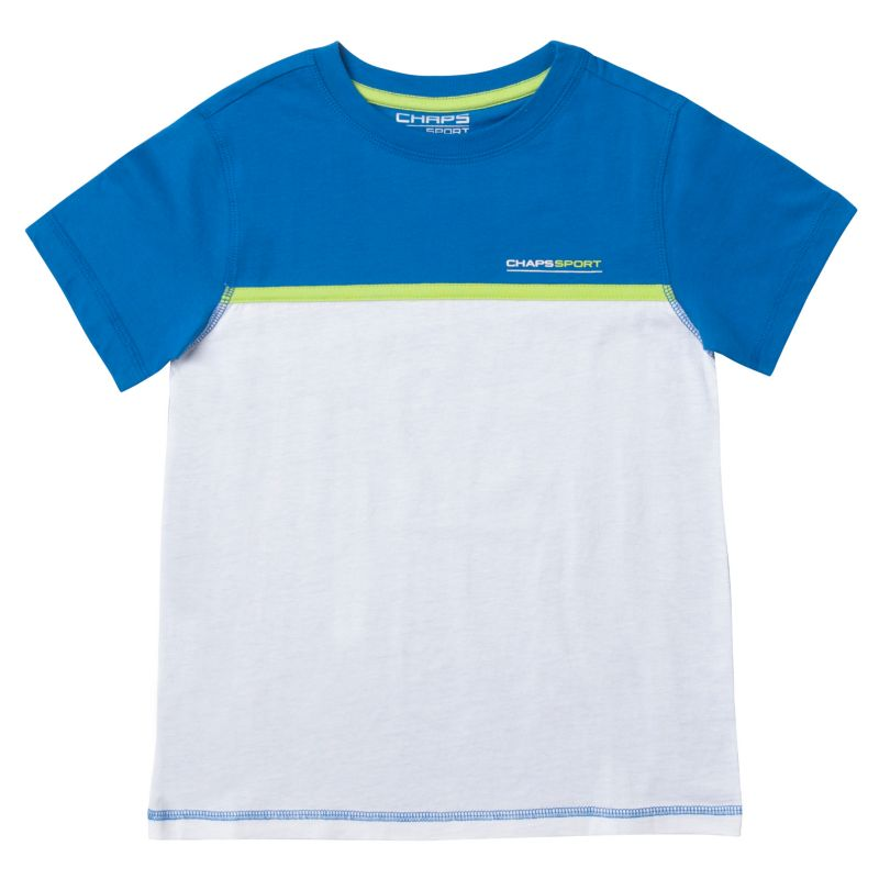 Boys 8-20 Chaps Sport Colorblock Tee, Boy's, Size: Small, Blue