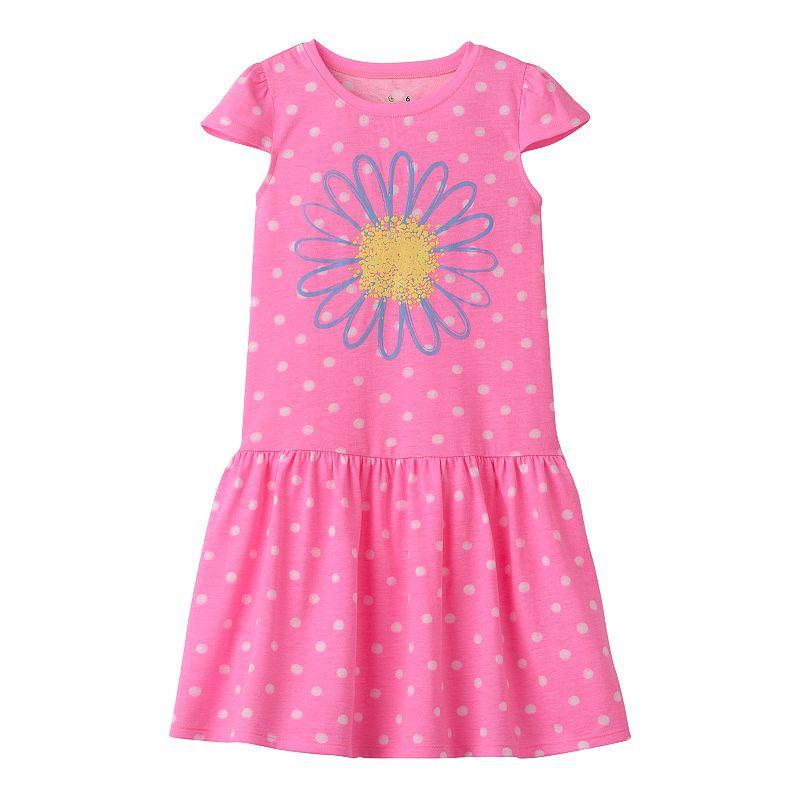 Girls 4-10 Jumping Beans® Drop-Waist Dress