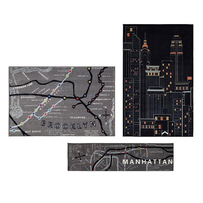 Mohawk® Home New York City 3-pc. Rug Set