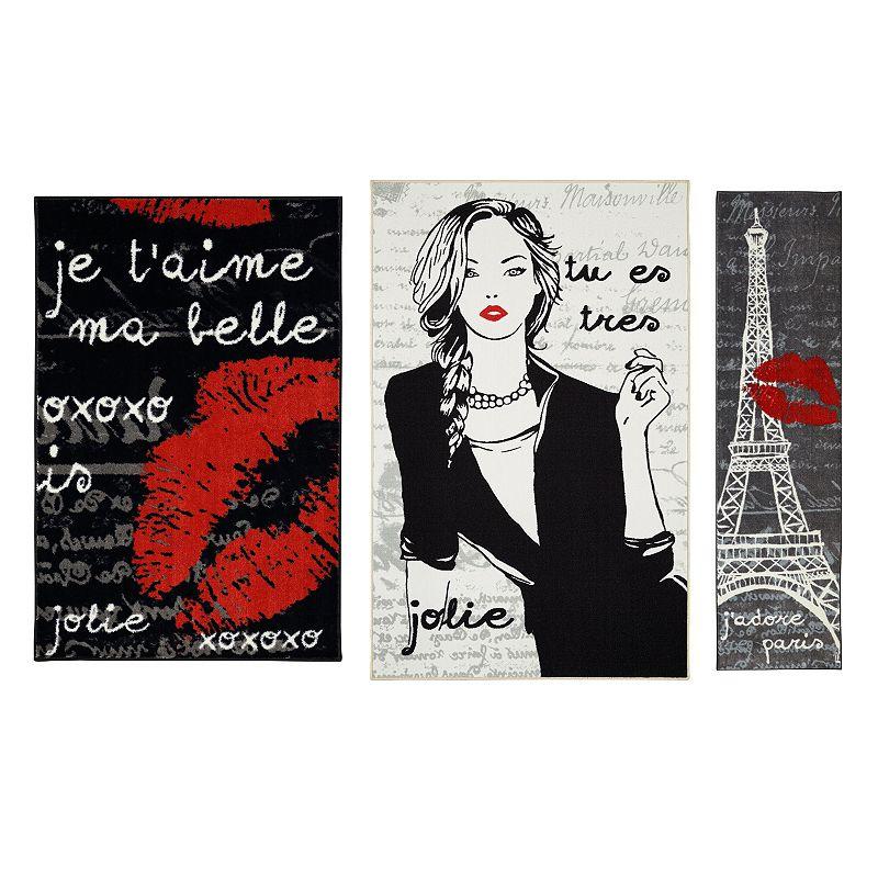 Mohawk® Home Paris Love 3-pc. Rug Set