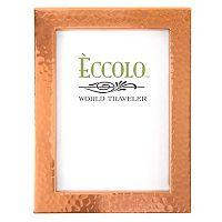 World Traveler Copper Box Hammered Frame