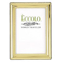 World Traveler Gold Beaded Frame