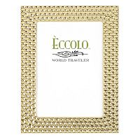 World Traveler Gold Modern Disco Frame