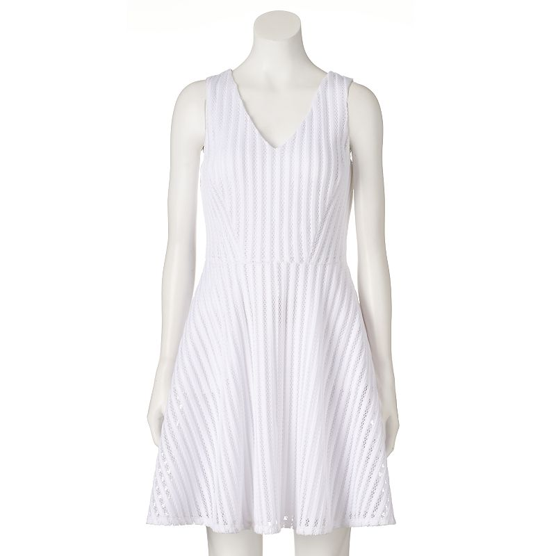 Women's Apt. 9® Striped Fit & Flare Dress