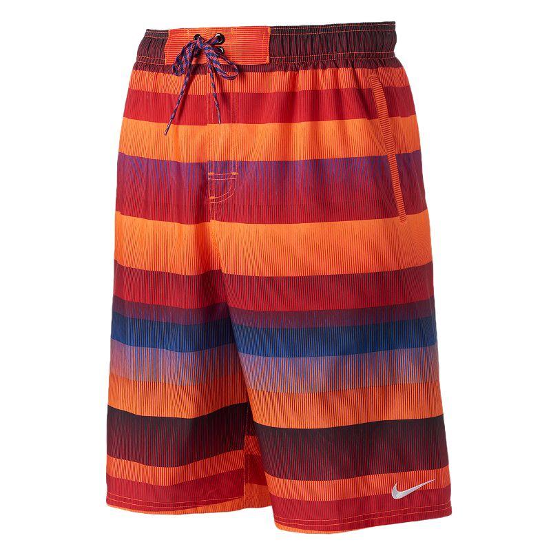 Men's Nike Optic Shift Striped Volley Shorts