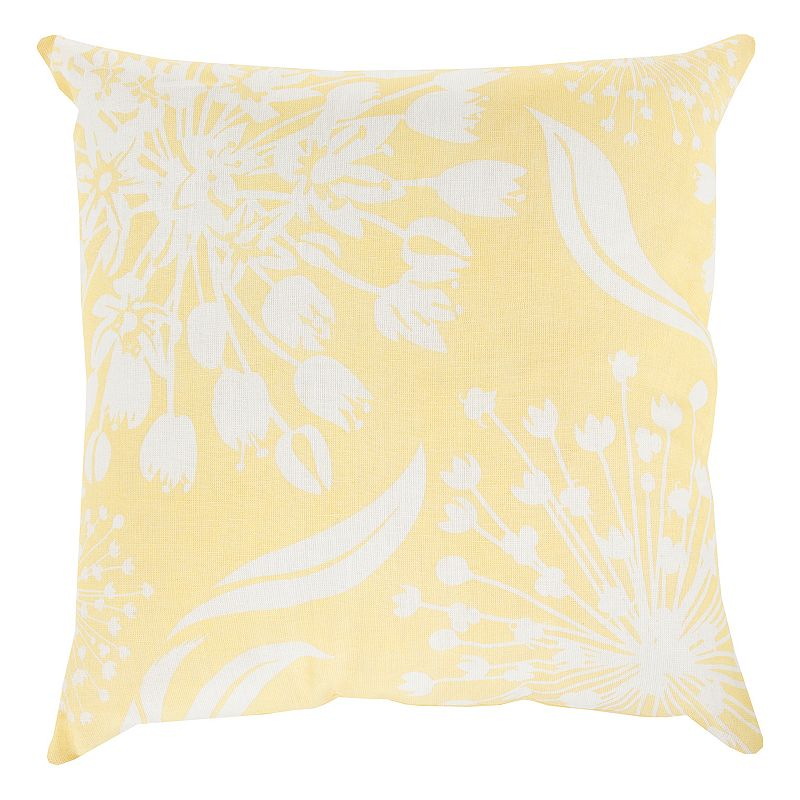 Kohls Yellow Throw Pillows : Yellow Floral Throw Pillow Kohl s