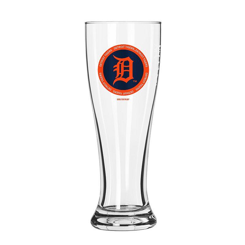 Detroit Tigers Pilsner Glass