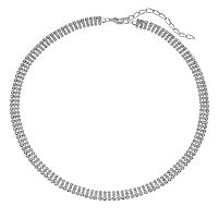 Franco Gia Multirow Necklace