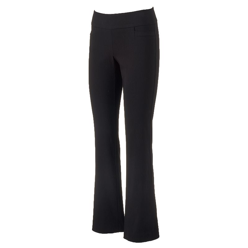 Women's Apt. 9® Millennium Bootcut Dress Pants