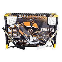 Franklin Tuukka Rask Mini Street Hockey Goal Set with Target