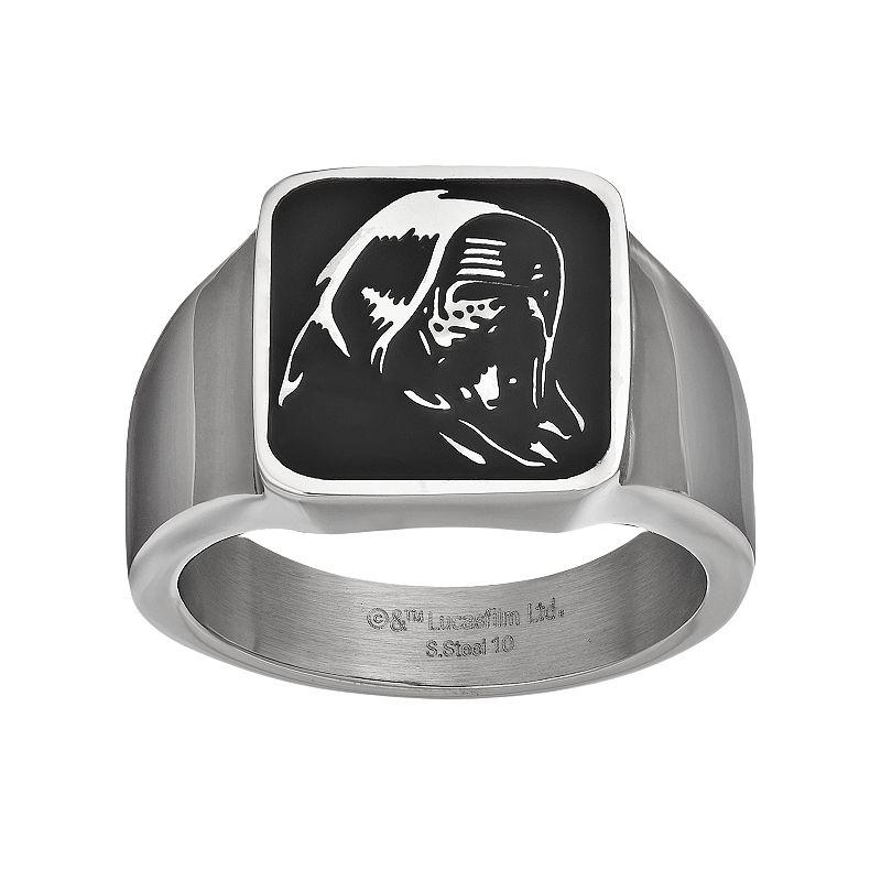 Star Wars: Episode VII The Force Awakens Men's Kylo Ren Stainless Steel Ring