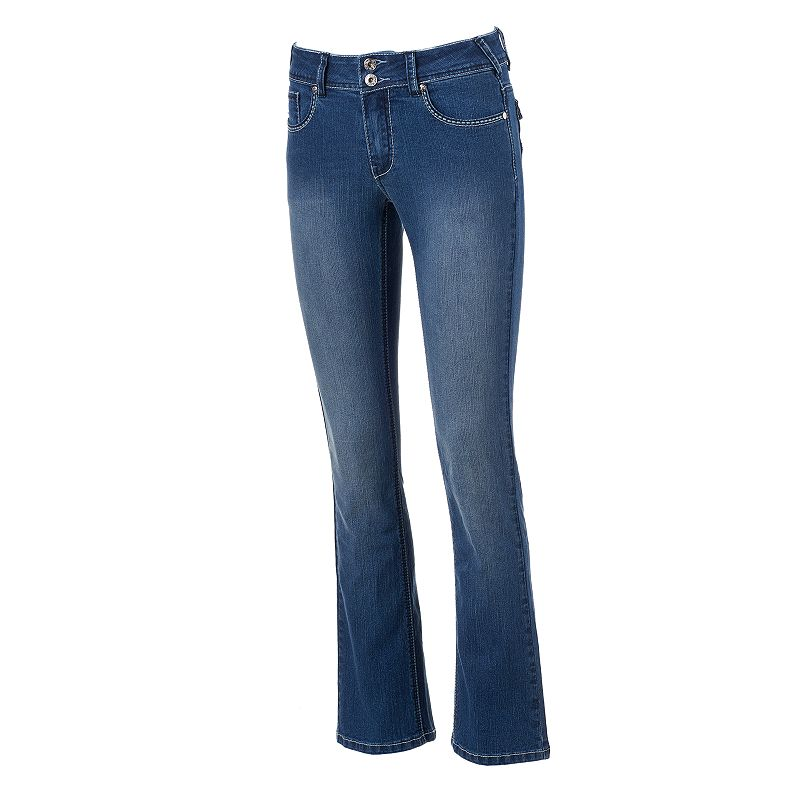 Women's Angels Embellished Faded Bootcut Jeans